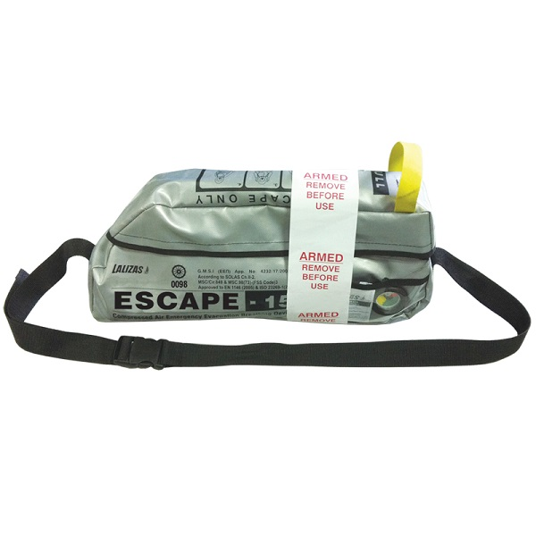 LALIZAS - Model 70322 Escape Set ESCAPE-15 Emergency Evacuate Breathing Device (5)